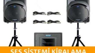 Tek Hoparlörlü Ses Sistemi