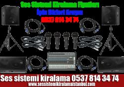 Ses Sistemi Kiralama – Kiralık Ses Sistemi