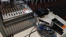 Ses sistemi bluetooth lü telsiz mikrofonlar Video Kamera kaydı Projeksiyon