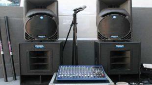 Keçiören Ses sistemi kiralama