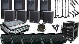 Esenyurt Ses sistemi kiralama