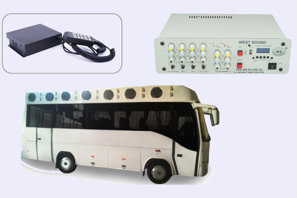 Araç üstü ses sistemi kiralama